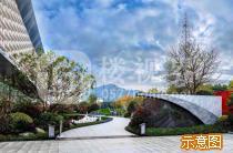 杭州富阳万达广场实景图