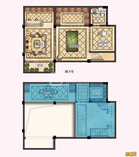 1#2#1F边套:4室2厅2卫    面积大小:约132.00㎡