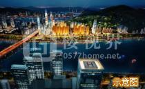 温州三江立体城|新外滩效果图